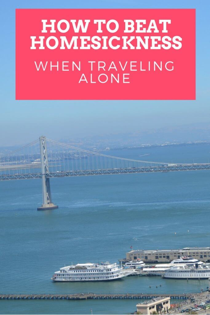 How to beat homesickness when traveling alone. Traveling can be the most amazing experience, but it can also leave you lonely in an unknown place. I'll share with you my secrets of how to beat homesickness when traveling alone. | www.travelthewholewideworld.com